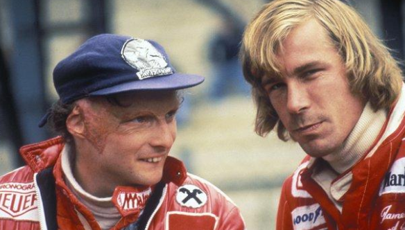 One of the greatest rivalries of all-time and one of the greatest friendships.Niki Lauda and James Hunt.