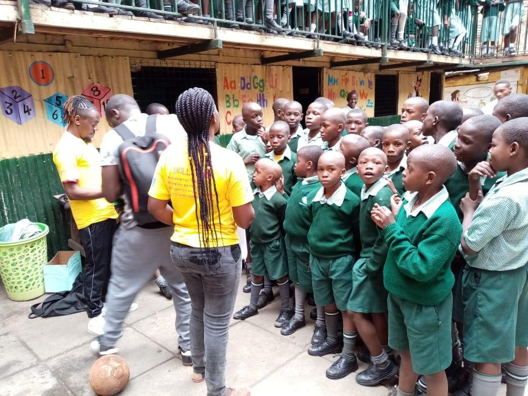 test Twitter Media - #Skillz Mabeste #HIV awareness targeting primary #schools #football @NACC_Kenya @USAIDKenya @cafonline https://t.co/g5IGBYwCwY