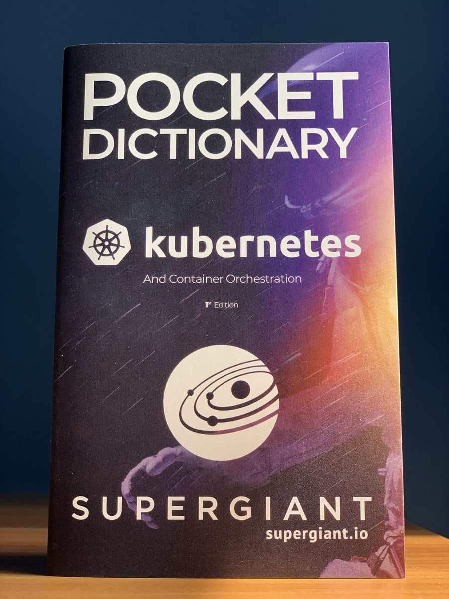 Good morning #KubeCon attendees! We're excited to be sponsors and speakers this year. Visit us at BOOTH #G1 to pick up a copy of our famous Kubernetes Pocket Dictionary and to meet our #K8s experts.