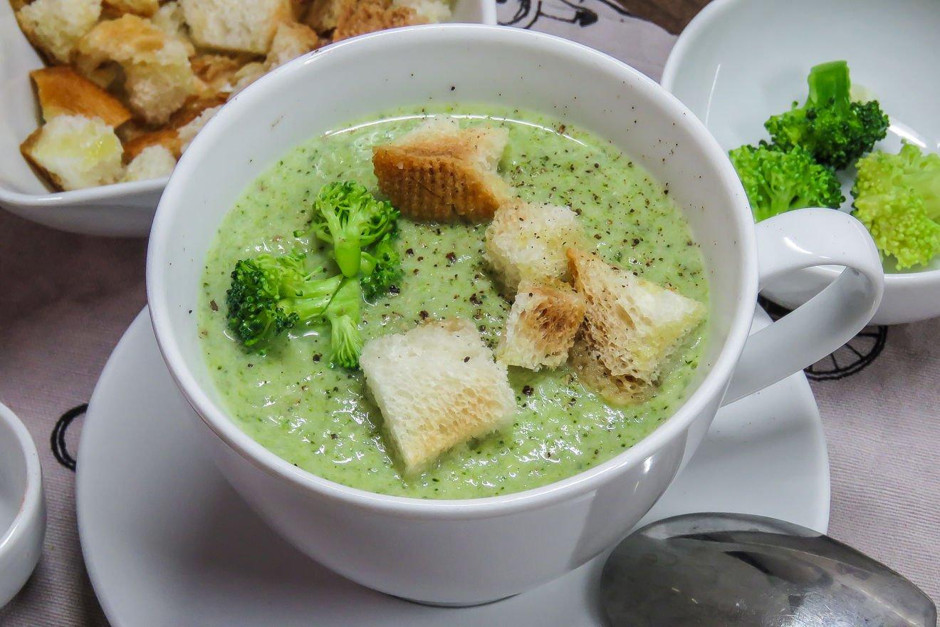 Овощной Суп Для Похудения Брокколи. Брокколи на страже фигуры. Рецепты для похудения