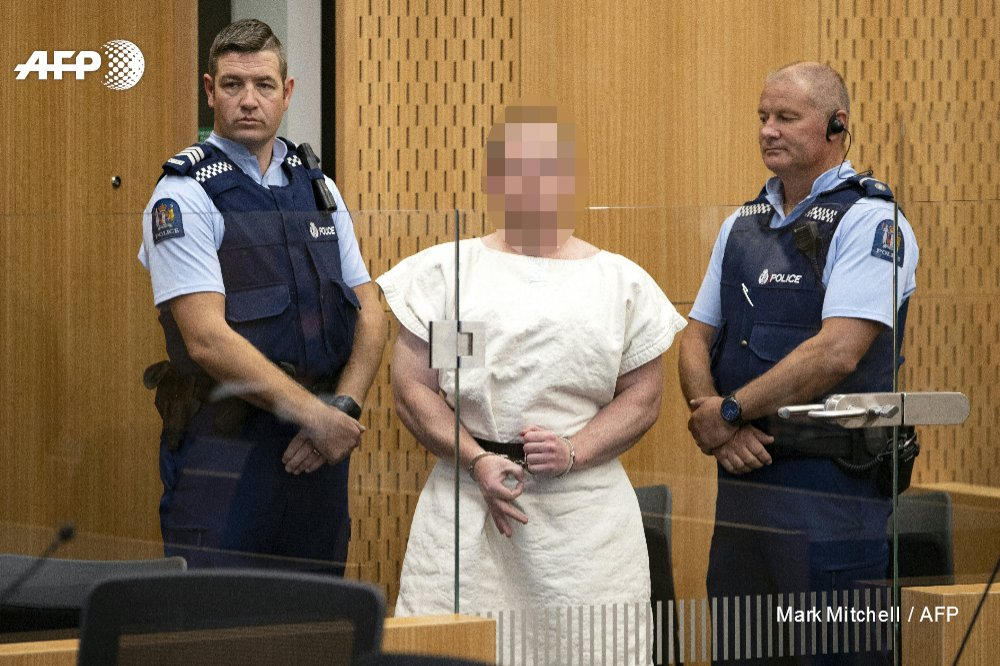 Man accused of killing 51 Muslim worshippers in the Christchurch mosque attacks is formally charged with terrorism   http:// u.afp.com/JMK7  &nbsp;  <br>http://pic.twitter.com/HzIdovd65x
