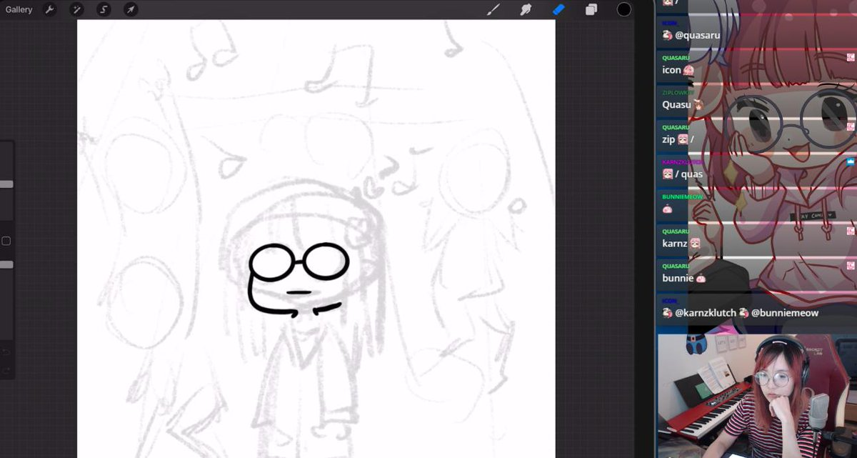 http://twitch.tv/lilypichu not sleeping tonight cos flying out again ;-; short art stream + talking about edc