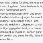 Lieber Niki...