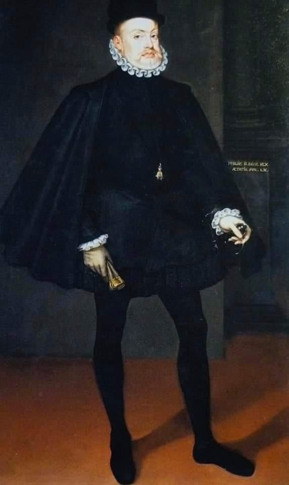 Se cumplen 492 años del nacimiento de Felipe II. Con el no se puso el Sol en el Imperio. Llevó a su máximo esplendor a la Hispanidad