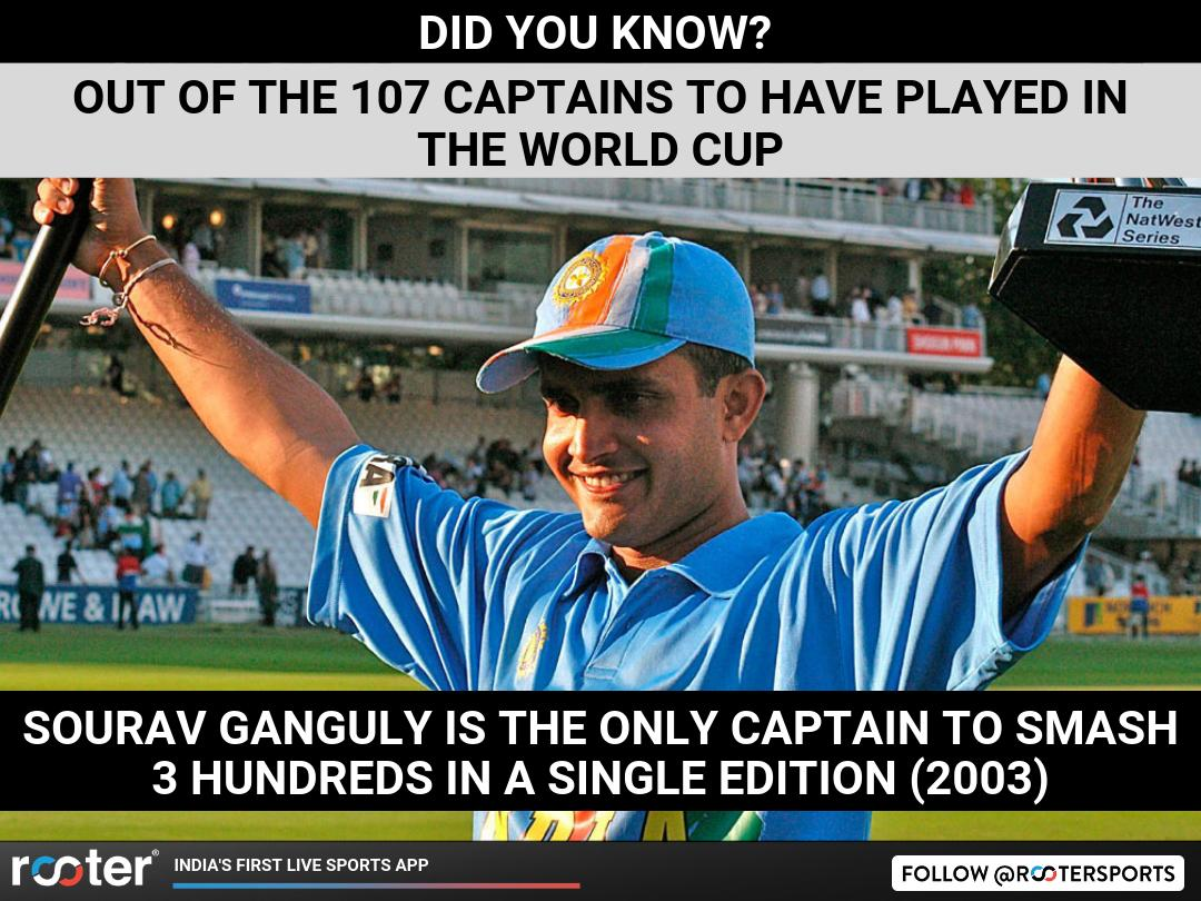 World Cup, Virat Might Be A Good Captain But Can He Break Dada's 16 Years Old World Cup Record?