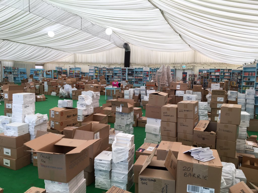 Did someone order some books? #HayFestival2019