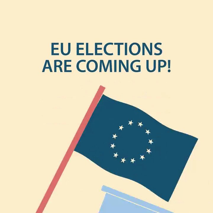 Its your chance to decide Europes future this week! The European elections 🗳️ 🇪🇺 take place on 23-26 May. Watch the video to find out how it works ⬇️