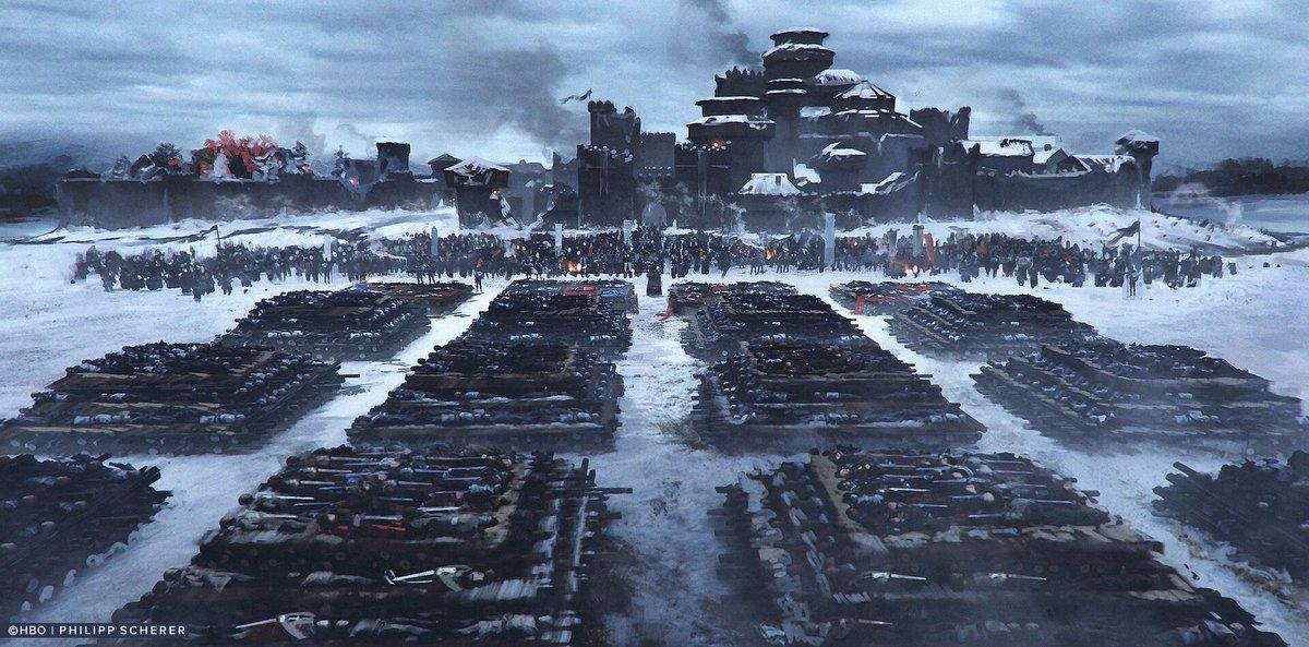 Game Of Thrones Season 8 Concept Art