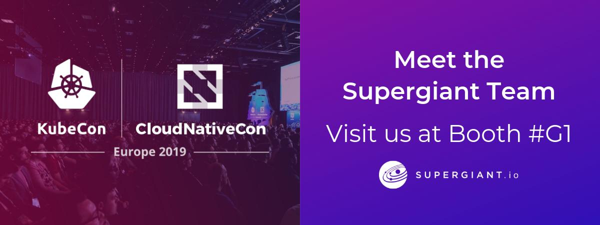 Welcome to #KubeCon + #CloudNativeCon EU! Make your way to Booth #G1 to chat with the Supergiant team about Kubernetes support and training. Have a great #K8s conference!