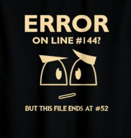 Sometimes error be like 😂😂😂😂 #unicifer #programmingerror #error #codes #coderecipe #programmer #programming #Coding