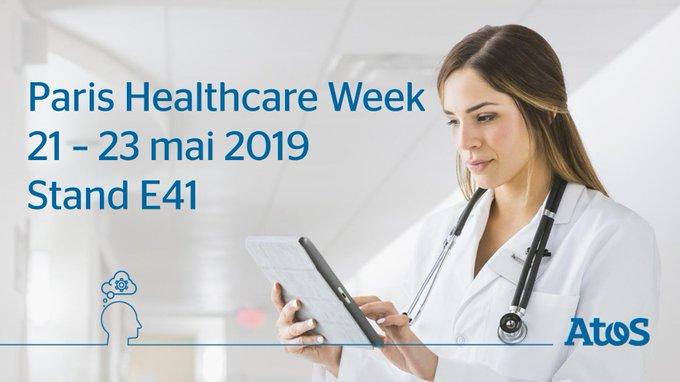 RDV à la Paris Healthcare Week (HIT) du 21 au 23 mai. Venez échanger...