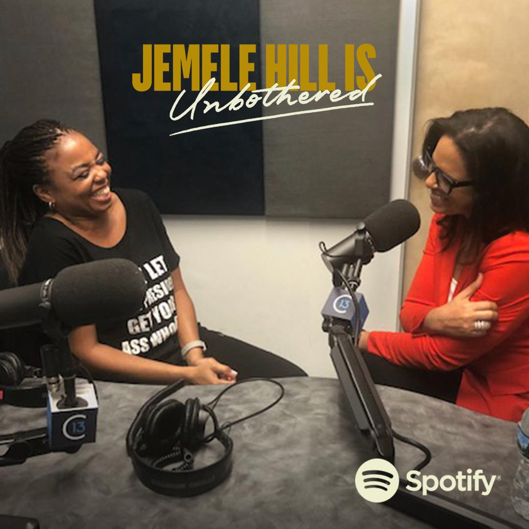 .@soledadobrien guests on the new episode of the @JemeleHill Is Unbothered podcast to discuss why shes disappointed in todays media, how she coped with losing her parents, and a whole lot more. Tune in now 👉 spoti.fi/2VH4exk