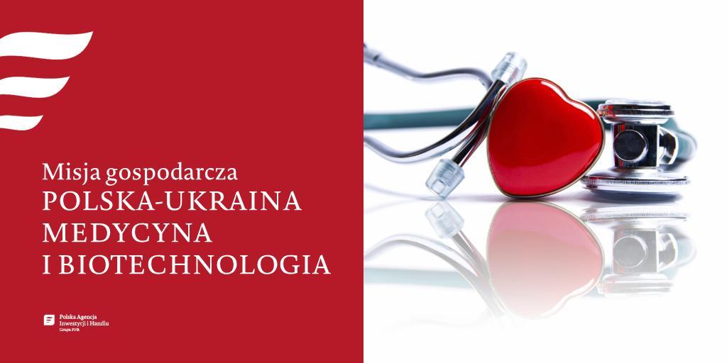 🇵🇱🇺🇦 Branżę medyczną i #biotech zapraszamy do udziału w misji gosp. na Ukrainę👉http://bit.ly/30yUb1a  W ramach wydarzenia odbędą się:  🔸Konferencja POLSKA - UKRAINA MEDYCYNA I BIOTECHNOLOGIA, 🔸Promocja PL firm i rozmowy #B2B  Kiedy❓12.06.2019r. Gdzie❓Kijów  #PAIH #ZBHKijów