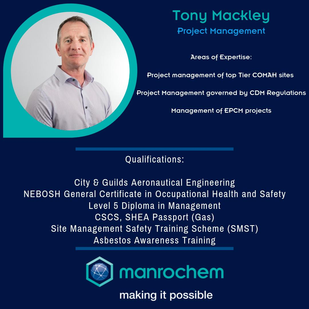 We're thankful to have someone with such strong and experienced leadership skills in our ranks. Why not throw him a connection?  #Manrochem #MakingItPossible #Engineering #Leadership #Business #BioTech #ChemicalEngineering