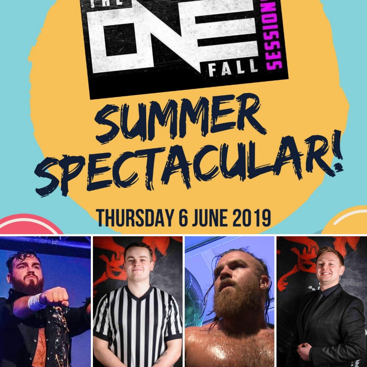 Just over two weeks till this one time only event! The Coffey Brothers will never share a panel again. Ever. So what are you waiting for?! Interviews, chat, ! Summer!Tickets £10 at: https://www.ringsideworld.co.uk/event2730/the-one-fall-sessions-live-#buy-tickets …