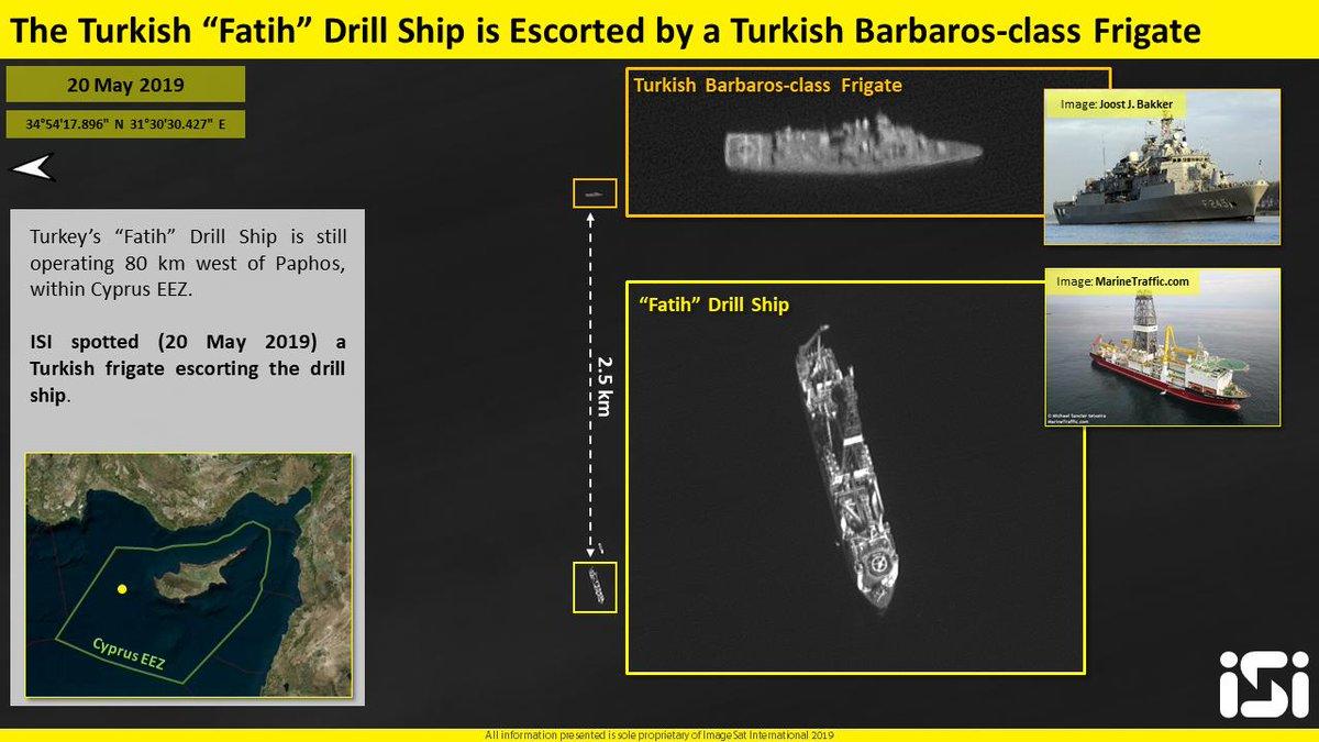 """قبرص تتهم تركيا بتبني """"دبلوماسية السفن الحربية"""" D7F2WP2W0AA4iNC"""