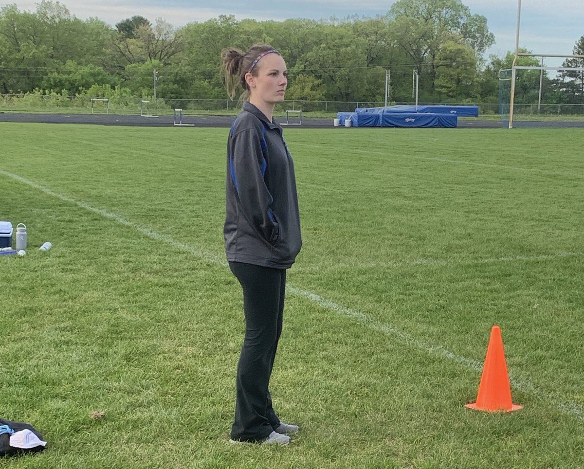 Tonight marks the final regular season game for HHS athletic trainer Chelsea Zajac.  After nine years and over 500 games, she is transitioning to a different position at the Hastings clinic this summer.  Thank you Chelsea for your service &amp; support of Raiders athletics! <br>http://pic.twitter.com/f2AzozacBj