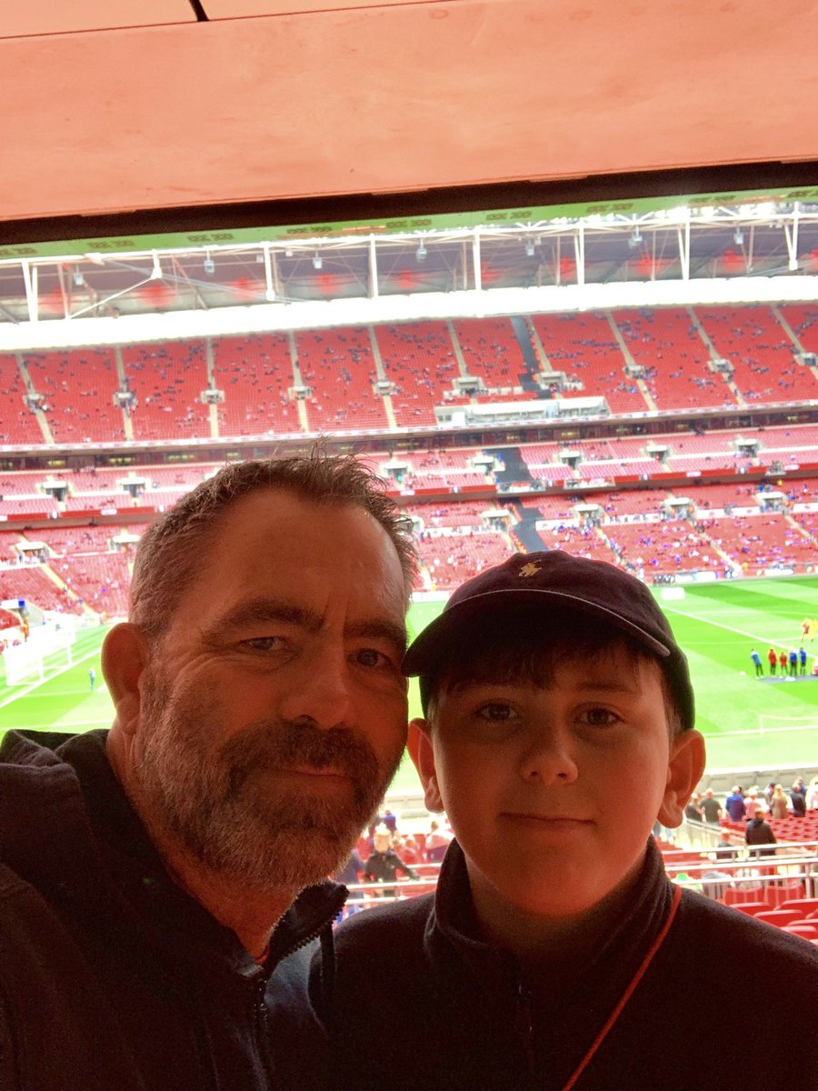 This season me and my son have attended 57 matches covering just under 13,000 miles. The last leg approaches this weekend at Wembley. Ultimate father and son time. Ha'way the lads.  @SunderlandAFC<br>http://pic.twitter.com/lmDNnalemN