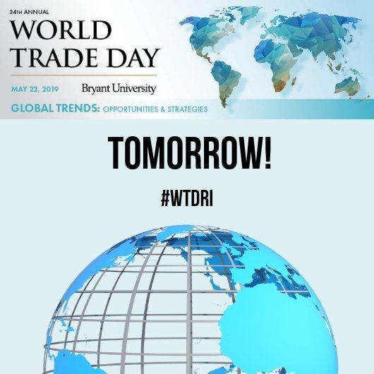 It's finally here! World Trade Day is Tomorrow, May 22nd!