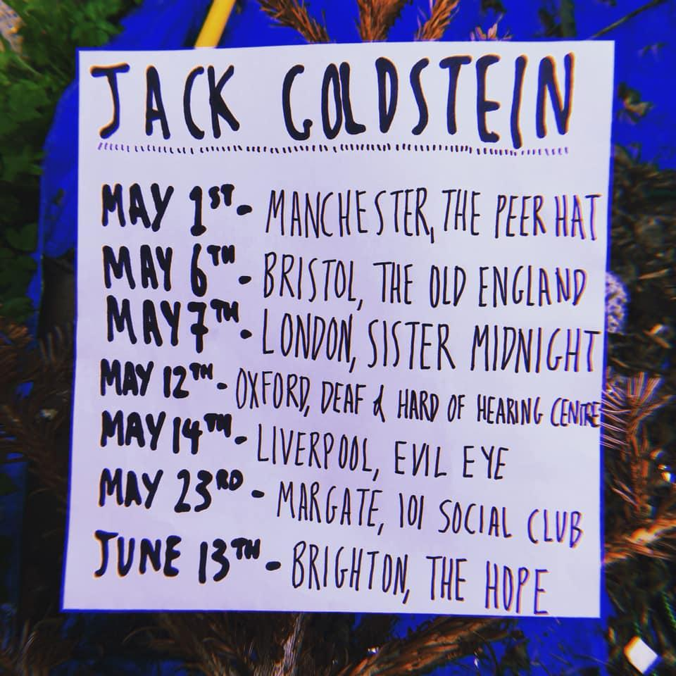 101 will reopen this Thursday to host Jack Goldstein with Sean Bekker Goldring and Felipe Gomes. Doors 7pm. Suggested £4 on the door but no one turned away for lack of funds. #101socialclub