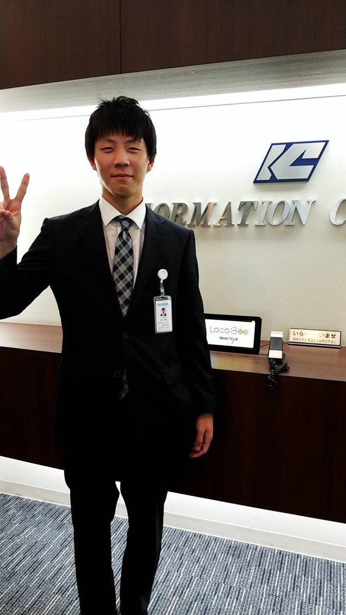 #北海道ハイテクの卒業生訪問紀行ITソリューション、サービスを展開する、株式会社インフォメーションクリエーティブに就職した、ITメディア学科卒業生の東野君をレポート?スーツ姿もカッコいいです✌️#北海道ハイテク