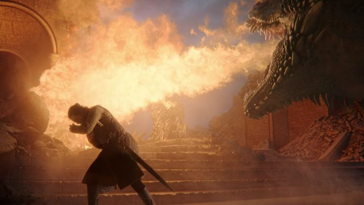 Dragons are intelligent, more intelligent than men according to some Maesters. They have affection for their friends and fury for their enemies.  Tyrion Lannister   #gameofthrones #GOT #GOTfinal #GameOfThonesFinal #Drogon #Daenerys #JonSnow #Tyrion #IronThrone<br>http://pic.twitter.com/9ZyX8XeBUo