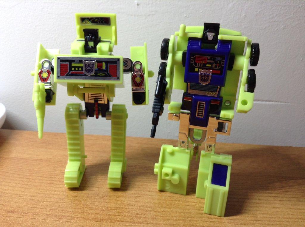 Bonecrusher and Hook #deskbot #transformers