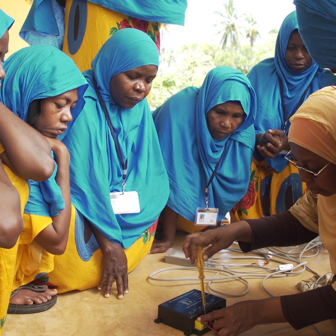 Image for the Tweet beginning: In Zanzibar, women are being
