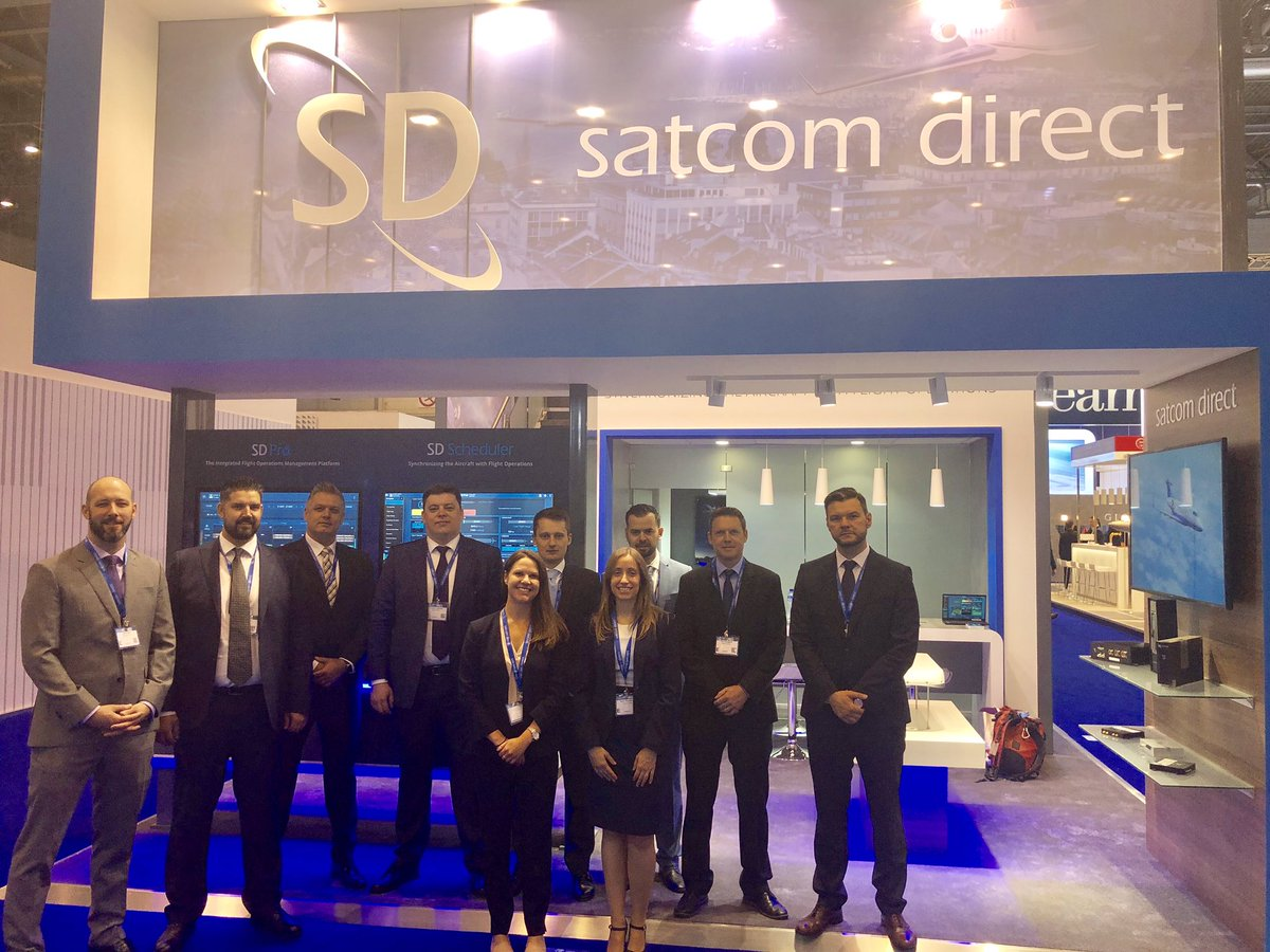 Welcome to EBACE 2019! Stop by booth #W115 to talk to our team about SD Xperience and learn how our cybersecurity solutions keep your data safe while flying.  #EBACE19 #EBACE2019 #BizAv