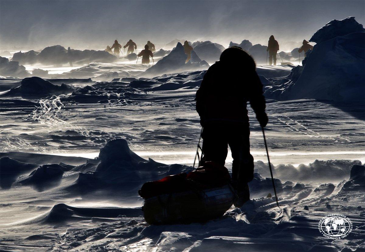 есть чем фотографии русские исследователи арктики сообщил