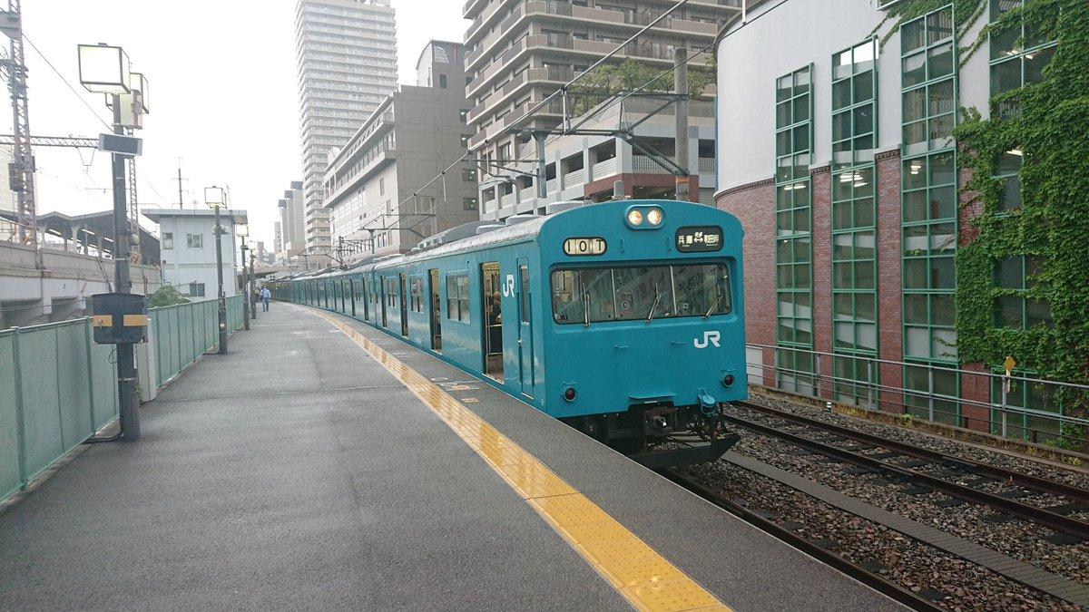 本日、新規一転の転職初日。よもや、この電車に乗って通勤とは夢にも思わなかった。入出札も特異。明日からもよろしく♥️