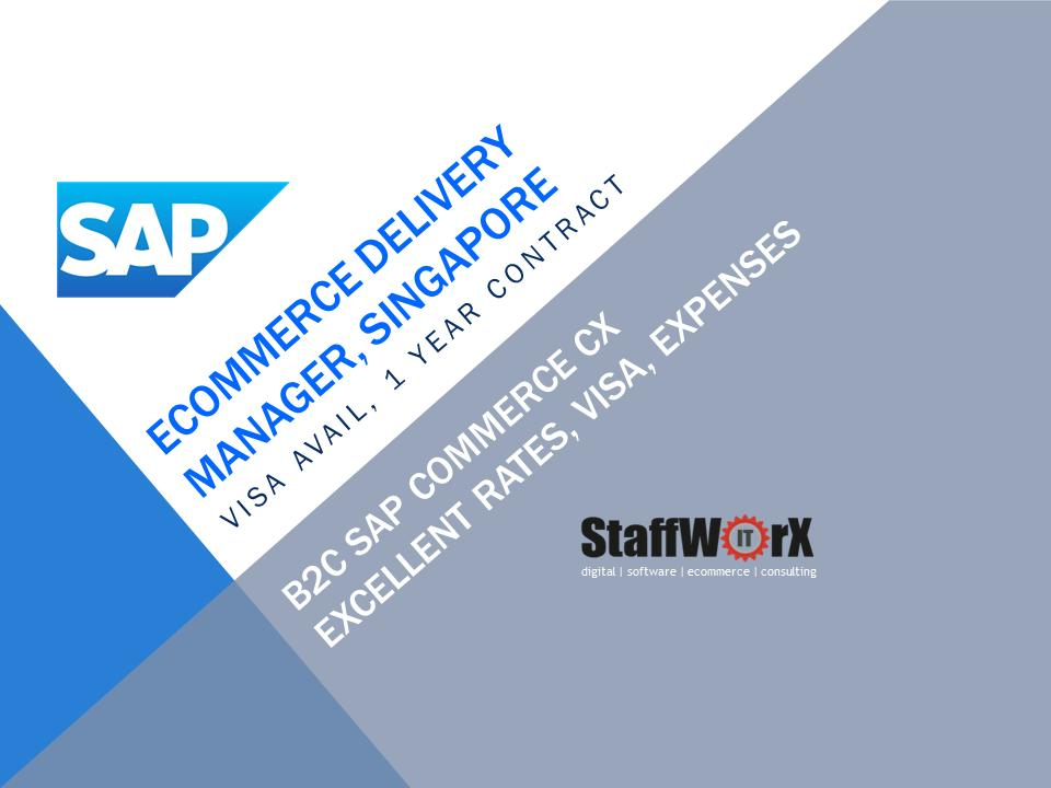 test Twitter Media - eCommerce Senior Project Delivery Manager (SAP CX / Hybris B2C) – Singapore, 12 months, expenses #sap #hybris #sapcx #singaporejobs #singapore #contractjobs #pmjobs   https://t.co/3BsG8TB4ii https://t.co/1styLI47Pc