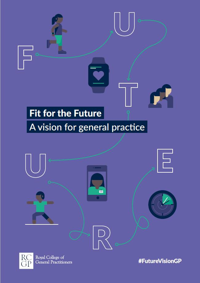 Today we're launching Fit for the Future - our vision for the future of general practice: 15-minute minimum consultations, continuity of care through 'micro-teams', and an end to isolated working. https://www.rcgp.org.uk/futurevision #FutureVisionGP