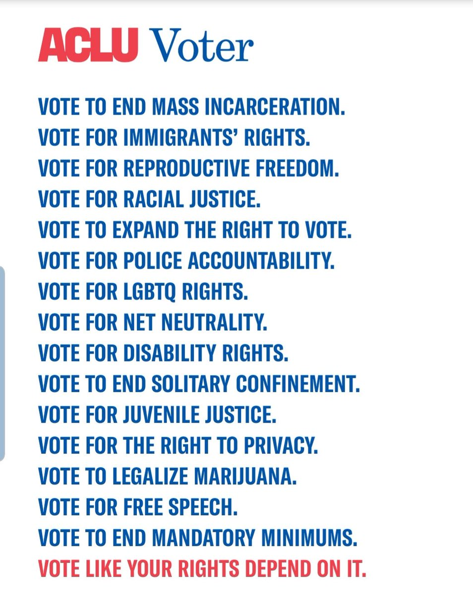 It's Primary Election Day in KY! Polls are open until 6pm. VOTE like your rights depend on it! 🗳