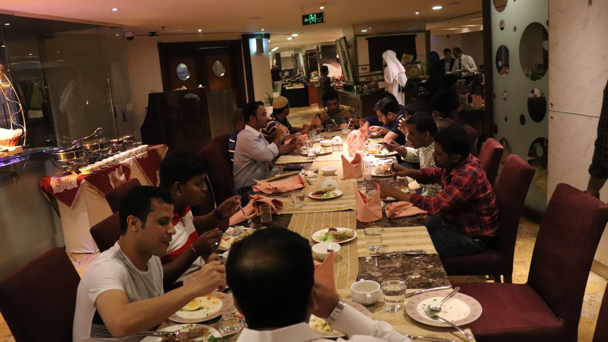 It's really a #blessing, when our #team who are so full of #dignity & #kindness. And really live to make the world a better place get together.  Yalla Checkinn IFTAR get-together @ #Wyndham #GrandRegency #Doha, #Qatar https://t.co/VoXXGW8SMS