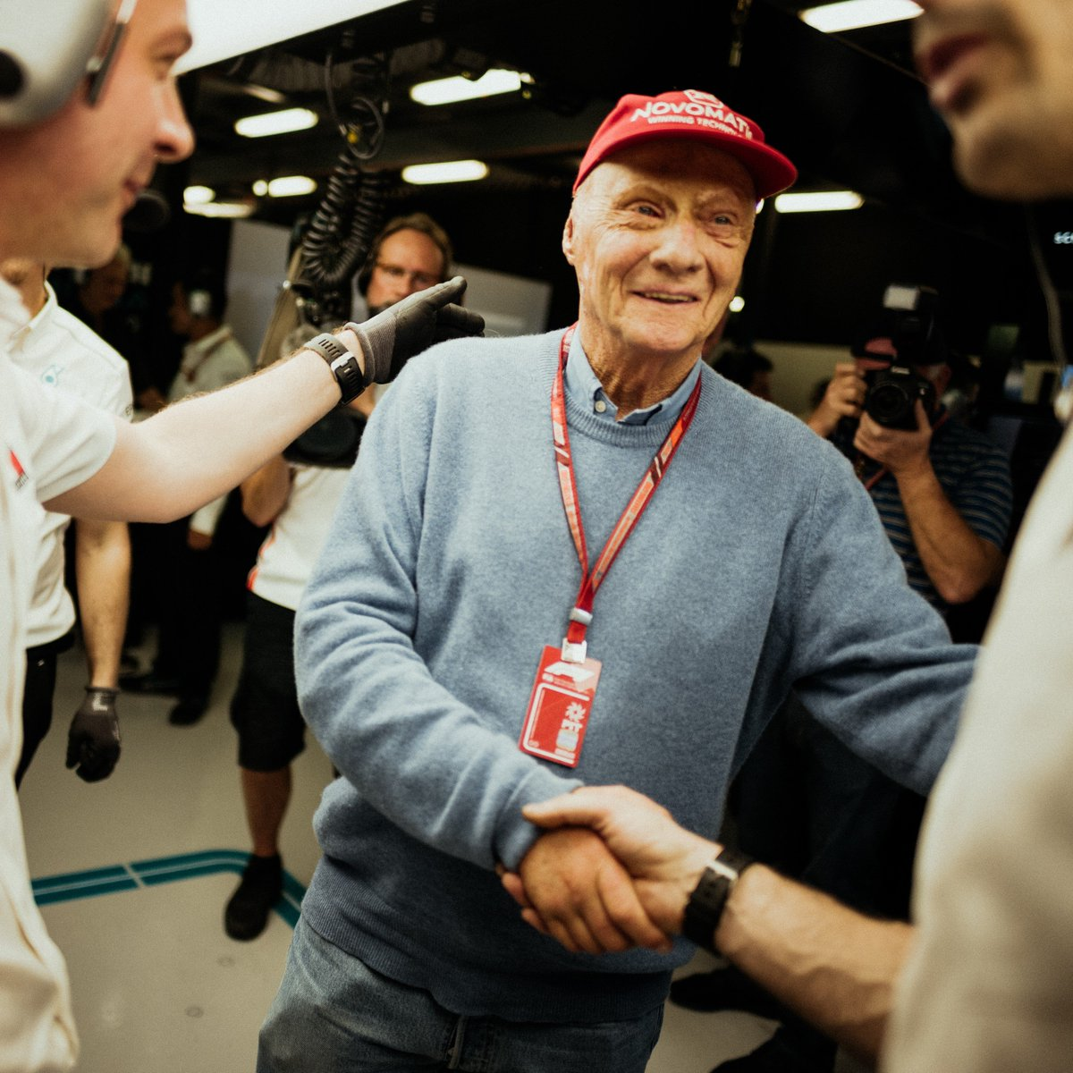 """Our team has lost a guiding light. Niki was always brutally honest - and utterly loyal. It was a privilege to count him among our team and moving to witness just how much it meant to him to be part of the team's success."" - Toto  Statement 👉 http://mb4.me/uWkLFFqw"