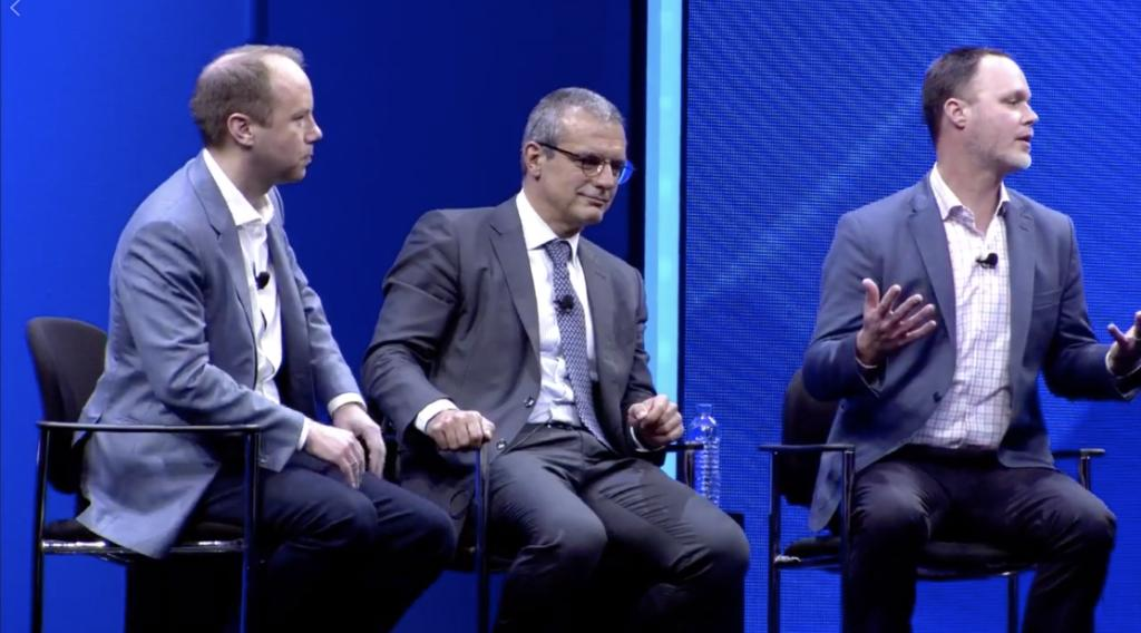 1 Year Later  New Developments in SAP C/4HANA with @AAtzberger, at #SAPPHIRENOW.  Watch SAP and co-innovation partner @Accenture announce Project Elevate ↓   http:// sap.to/6011EYgPV  &nbsp;   #SAPCXLIVE <br>http://pic.twitter.com/S7c1CdGsNP