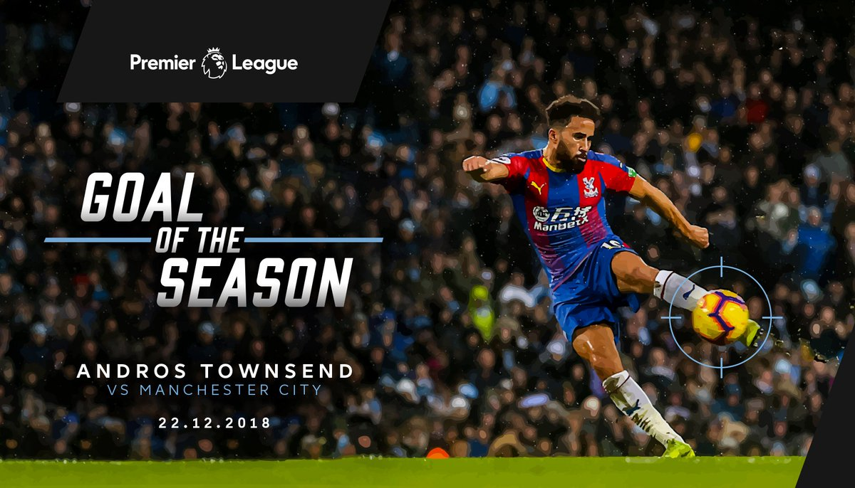 🏆 He's won the big one...  @andros_townsend has won the @premierleague Carling Goal of the Season! 🚀  Well earned, Andros! 👏