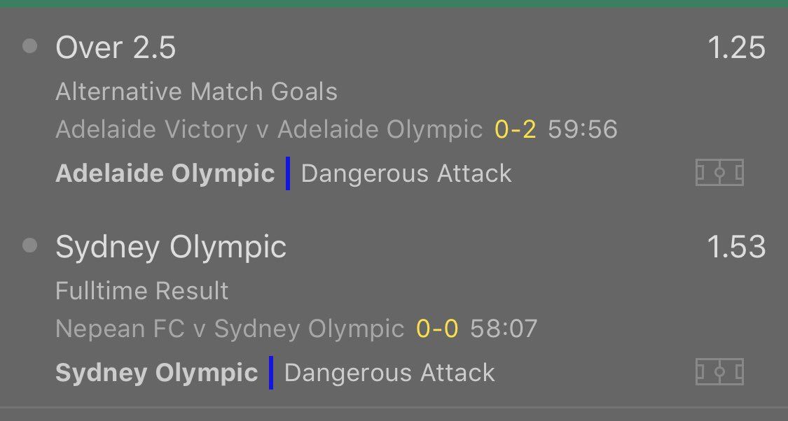 Inplay Double Odds 1.91<br>http://pic.twitter.com/LoyAyvpwFs