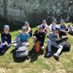 Group 4 soaking up the sun!