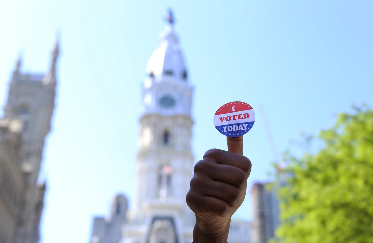 City of Philadelphia's photo on #PhillyVotes