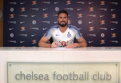 The Chelsea Echo's photo on Olivier Giroud
