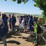 Group 6 enjoying the castle in the sun!