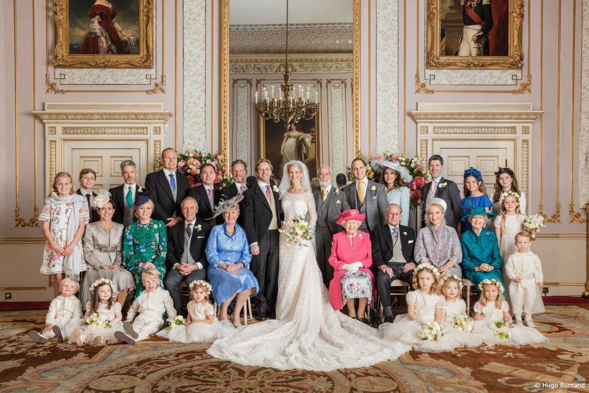 Леди Габриэлла Виндзор и мистер Томас Кингстон опубликовали официальные фотографии со своей свадьбы