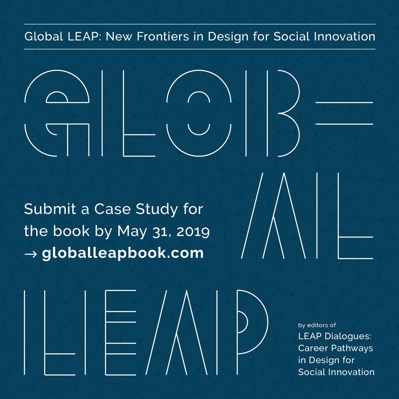 Isabella Gady On Twitter We Re Looking For 50 Amazing Design For Social Innovation Case Studies From Around The World To Highlight In Our Upcoming Publication Global Leap New Frontiers In Design For