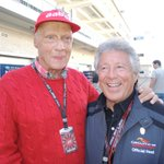 My heart is heavy today, mourning the loss of a colleague and friend.  Niki Lauda... a true-blue wonderful man