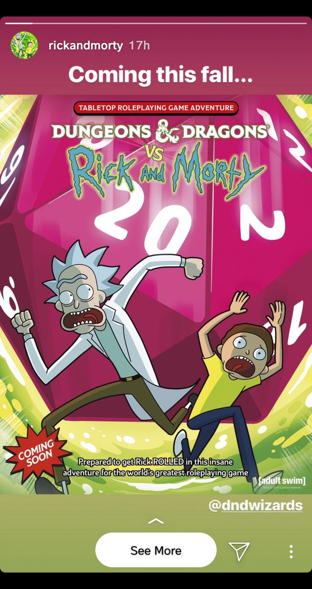 Wait... I need this lol #RickAndMorty #DnD<br>http://pic.twitter.com/TErSrnVN4N