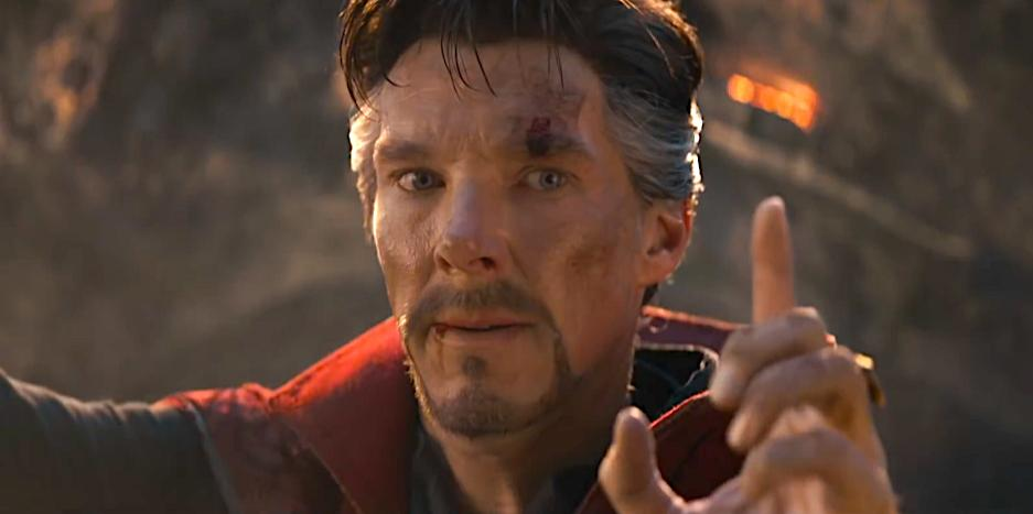 Comment the reason why Dr. Strange held up his finger. Wrong answer only. #AvengersEndgame