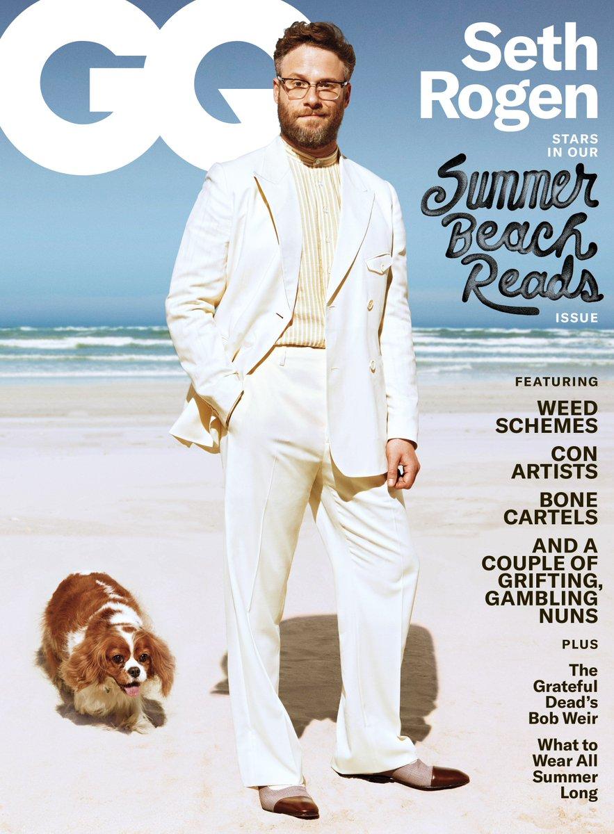 Presenting GQ's June/July cover star: @Sethrogen http://gq.mn/M6NbY34