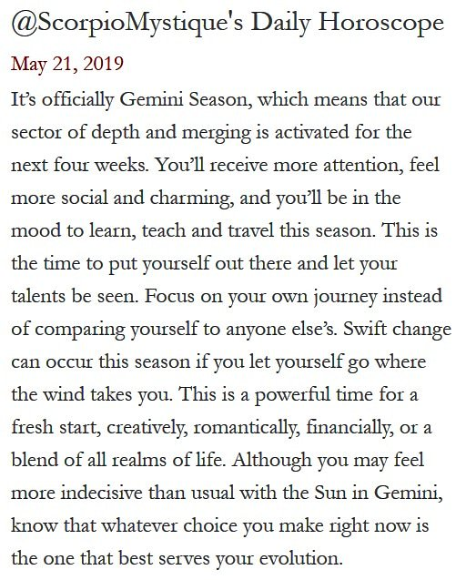 ScorpioMystique's photo on #GeminiSeason